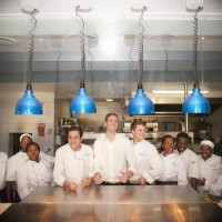 Blues Restaurant Kitchen staff Photo