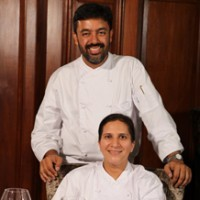 Chef Shyam Longani &  Harpreet Longani Photo