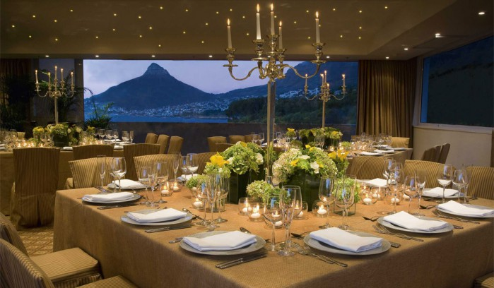 Azure Restaurant At The 12 Apostles Hotel Amp Spa In Camps Bay