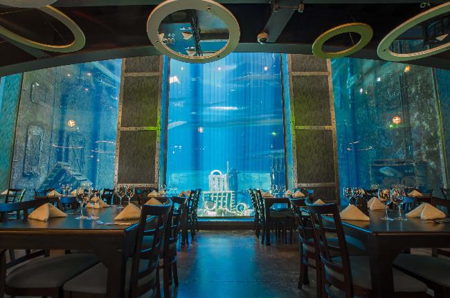 Cargo Hold Restaurant At Ushaka Marine World In Durban