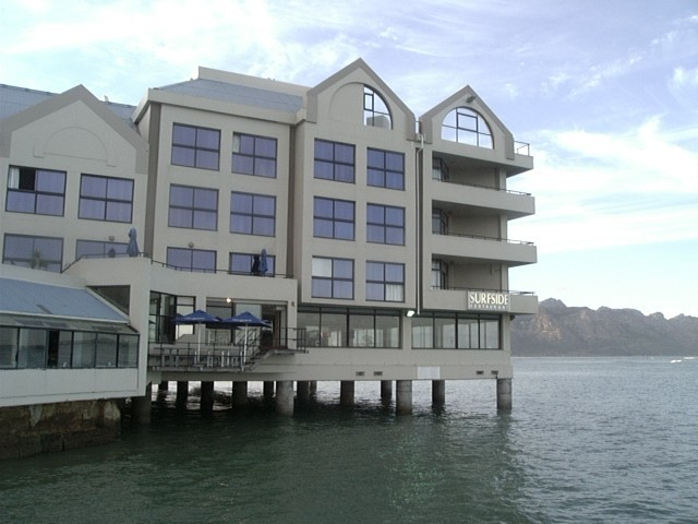 Surfside Restaurant In The Strand Cape Town