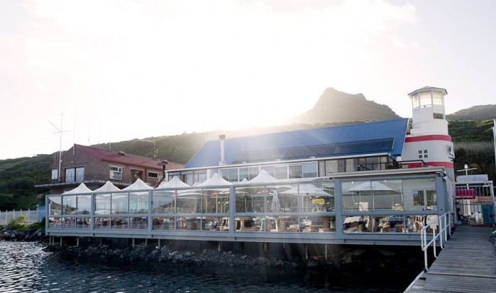 The Lookout Deck In Hout Bay