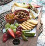 South African cheese platter