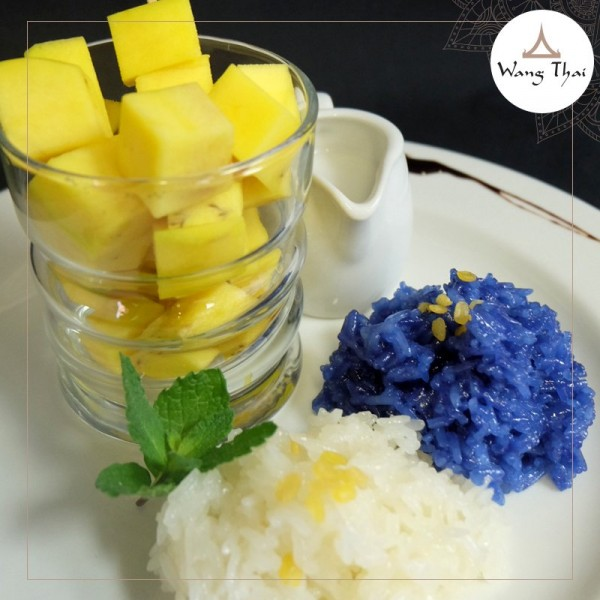 Mango Sticky Rice Dessert now on the menu at Wang Thai in ...