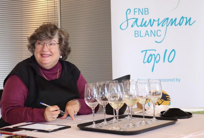 FNB Sauvignon Blanc Top 10 Competition judging convener, Winnie Bowman