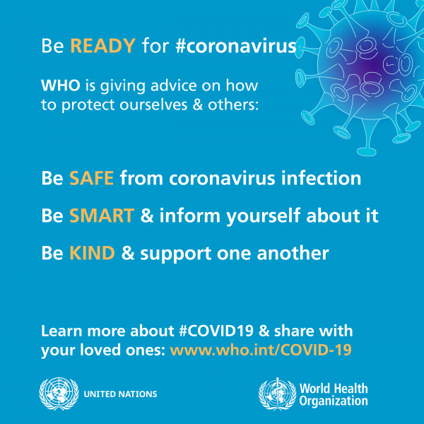 Be Ready for coronavirus