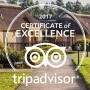 "Granny Mouse Country House Restaurant, Granny Mouse wins ""TripAdvisor Certificate of Excellence for 2017"""