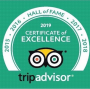 Rick's Cafe Americain, Rick's Cafe receives tripadvisor 2019 Certificate of Excellence