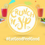 "Crunch n Sip, New Healthy ""Fastfood"" Bar for Sandton's Booked and Busy but Health Conscious"