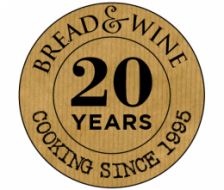 Bread and Wine Vineyard Restaurant logo