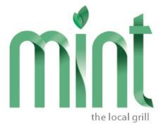 Mint, The Local Grill logo