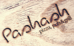 Pashash Pizza, Pub & Grill logo