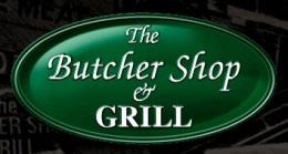 The Butcher Shop & Grill logo