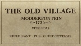 The Old Village Restaurant logo