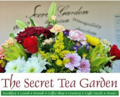 The Secret Tea Garden logo