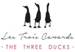 The Three Ducks - Les Trois Canards logo