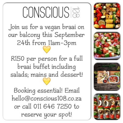 Vegan Braai on Heritage Day!