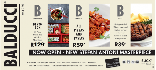 restaurant specials and events in victoria alfred. Black Bedroom Furniture Sets. Home Design Ideas