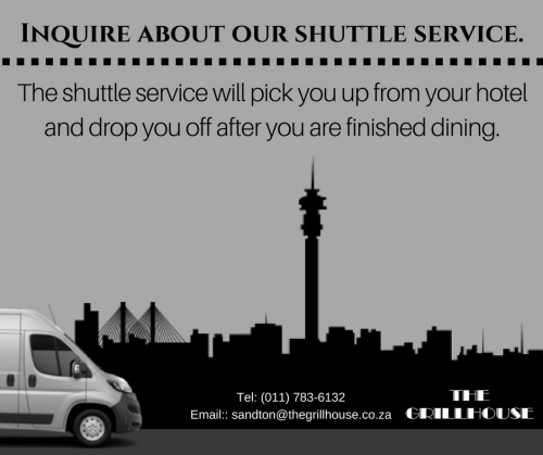 Ask about our Shuttle Service