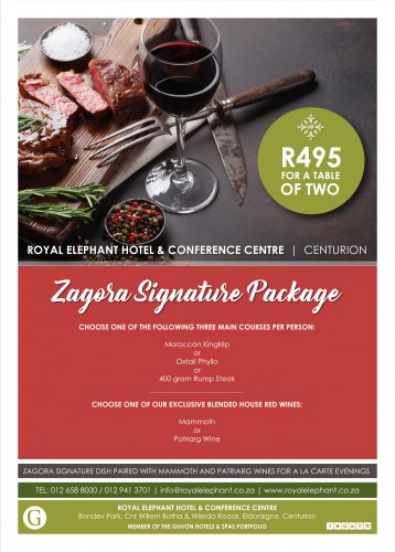 Zagora Signature Package