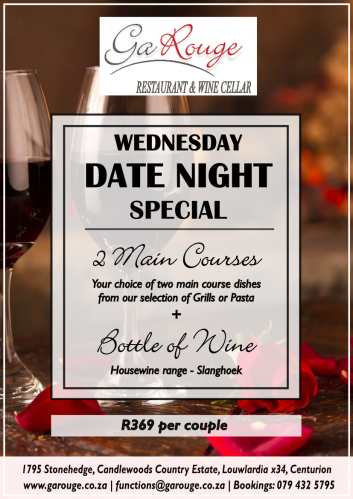 Date Night - Wednesday