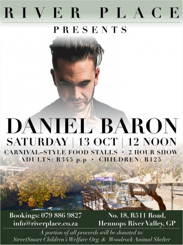 Daniel Baron Live - 13 October
