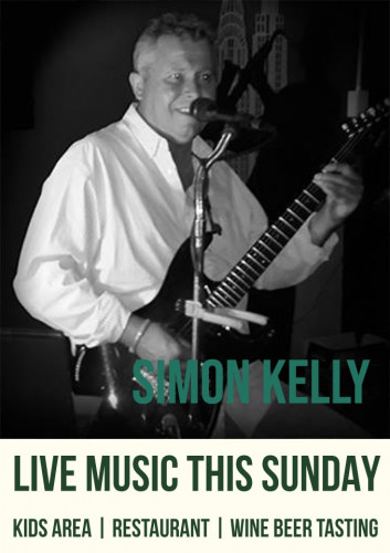 Live Music this week with Simon Kelly