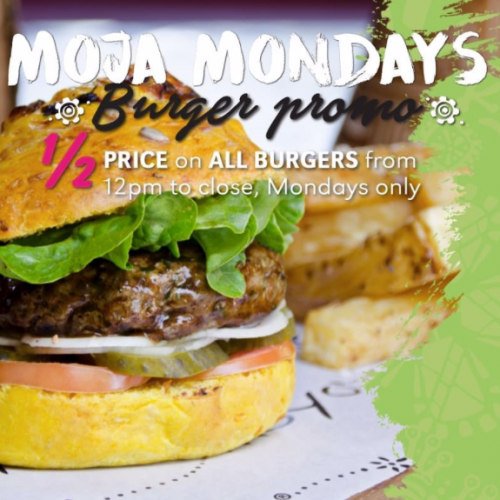Moja Mondays - Burger Promotion