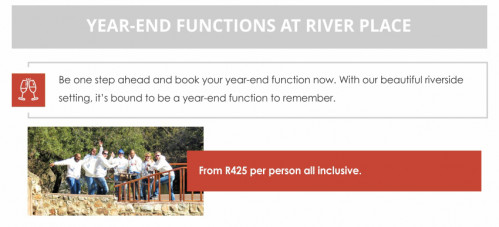 Year End Functions at River Place