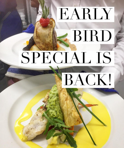 'Early Bird' Special