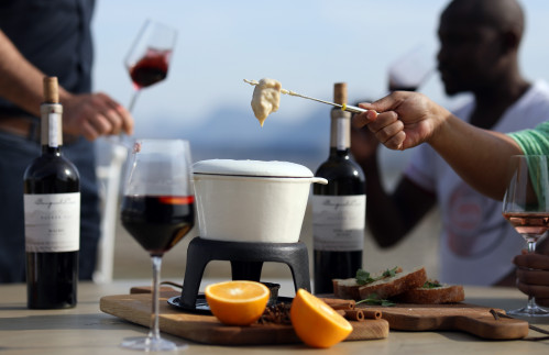 New Winter Tastings: Cheese Fondue, Ciabatta and Glühwein
