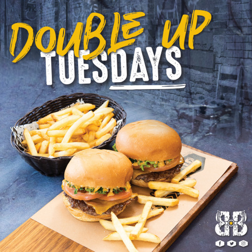 Double up Tuesday