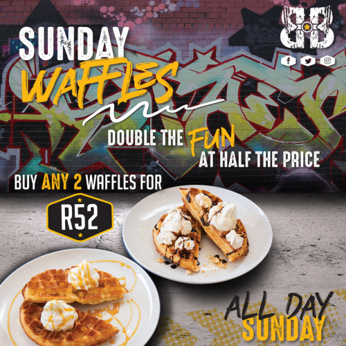 2 for 1 Waffles