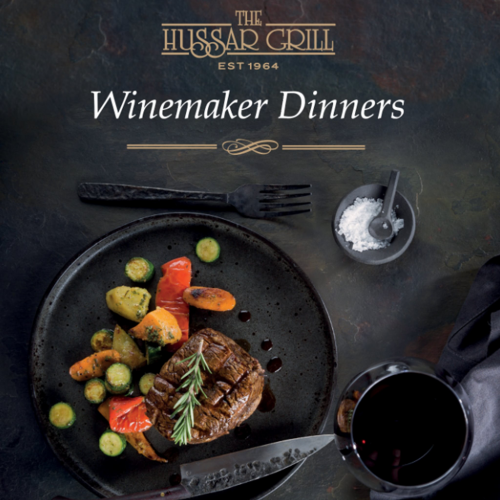 The Hussar Grill Stellenbosch Wine Maker Dinner Series