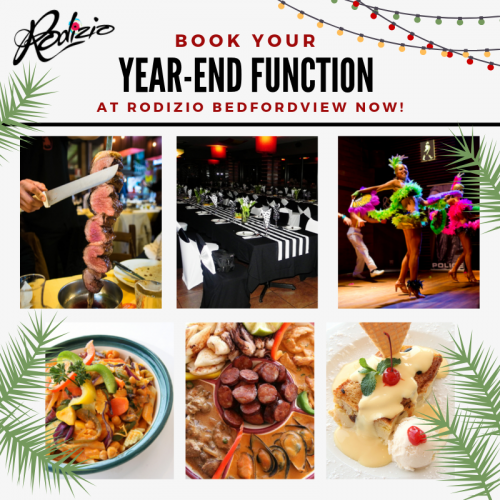 YEAR END FUNCTIONS NOVEMBER & DECEMBER