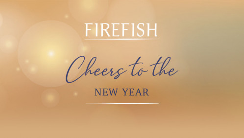 Cheers to the New Year at Firefish