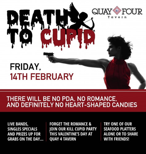 Death to Cupid Party - Quay Four Tavern