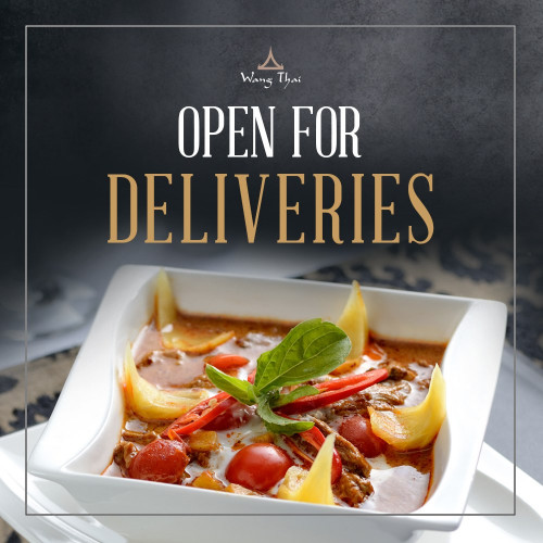 Open for Deliveries