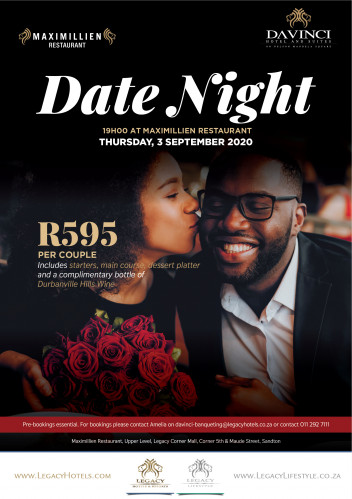 Date Night - Thursdays at Maximillien