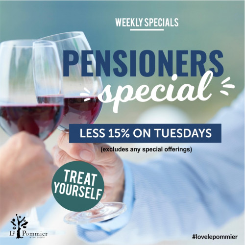 Pensioners Tuesday less 15%