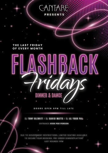 Flashback Fridays - The Last Friday of Every Month