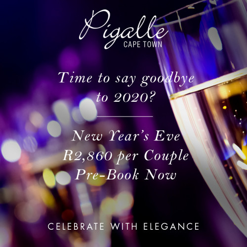 New Year's Eve at Pigalle - Cape Town