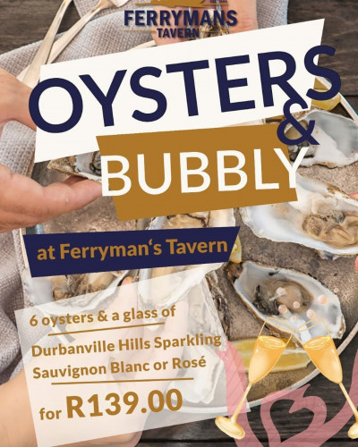 Oyster & Bubbly Specials