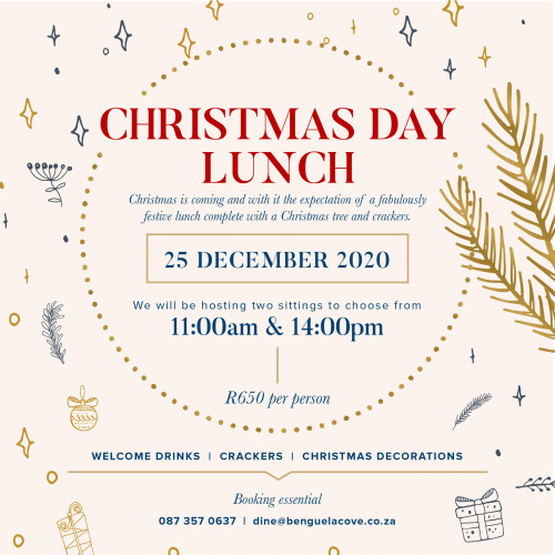 Christmas Day Lunch at Benguela Cove