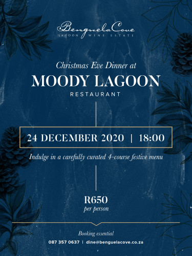 Christmas Eve Dinner at Moody Lagoon