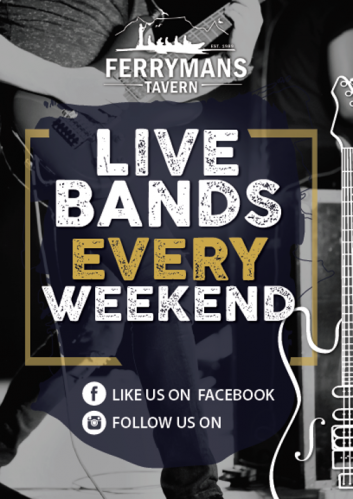Live Bands Every Weekend