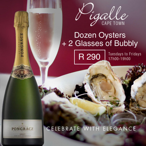 Oysters & Bubbly Special