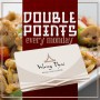 Get Double Points on your Loyalty Card on Mondays