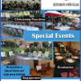 Special Events - Special Birthdays, Baby shower, Bridal shower, Christening