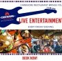 Live Entertainment every Friday Evening